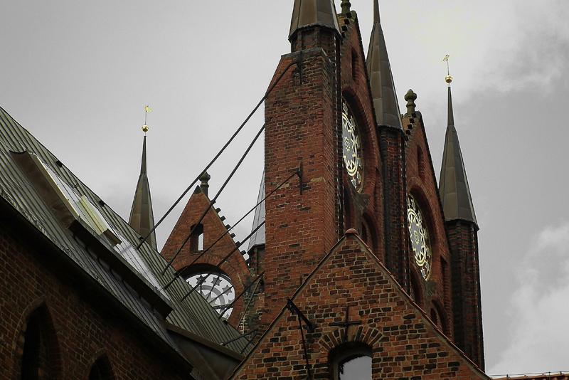 Giebel Rathaus Stralsund